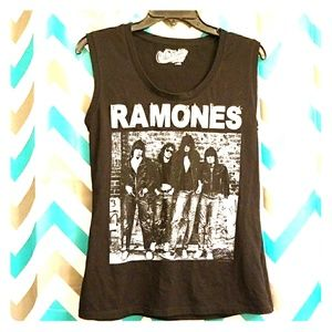 Ramones Ladies Muscle Tank